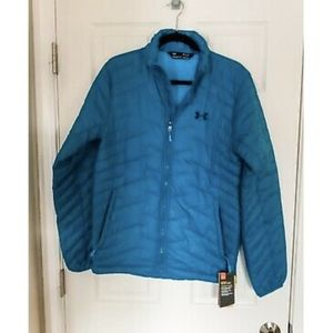 NWT Under Armour Cold Gear Reactor Teal Jacket